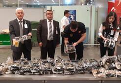 Son dakika: Atatürk Havalimanı'nda akıllara durgunluk veren kaçakçılık