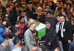 Acı haberi dün gelmişti Eş kurbanı ebe, törenle uğurlandı