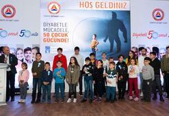 Türkiye Diyabet Vakfından Kanal Dye teşekkür plaketi
