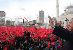 İstanbulda tarihi gün Cumhurbaşkanı Erdoğan: Söz verdik, yaptık, yapacağız