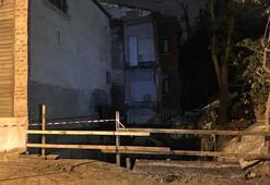 İstanbulda iki bina çökme riski nedeniyle boşaltıldı