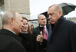 Son dakika: Cumhurbaşkanı Erdoğan ile Putin bir araya geldi