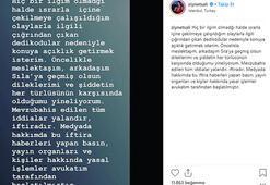 Ziynet Sali isyan etti: Yalan, iftira