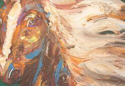 Ünlü isimlerin Berfin Ulumanla yaptığı tablolar satıldı