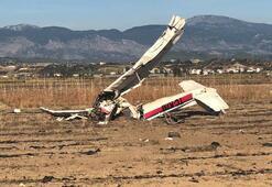 Son dakika... Antalyada eğitim uçağı düştü: 2 ölü