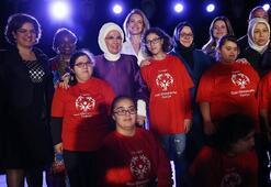 Emine Erdoğan: Kadına yönelik şiddet insanlığa ihanettir