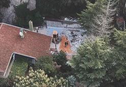 Adnan Oktarın villasındaki yıkımda son durum
