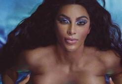 Kim Kardashian yeni ürünleri için soyundu