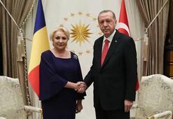 Cumhurbaşkanı Erdoğan, Romanya Başbakanı Viorica Dancilayı kabul etti