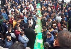 Cenazeye binlerce kişi katıldı... İlçeyi yıkan haber
