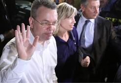 Son dakika... ABDli Brunson, Almanyaya gitti Beyaz Saraydan flaş açıklama