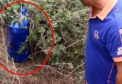 Kayıp kadın aranırken ormanda bulunan esrarengiz çanta olay yarattı