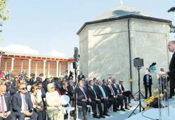 Erdoğan, Gül Baba Türbesi'ni açtı: Sevgi tohumları ekeceğiz