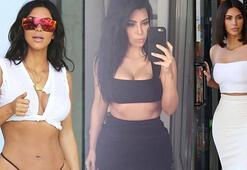 Kim Kardashian: Kalçalarım çok büyük