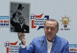 Cumhurbaşkanı Erdoğandan flaş açıklamalar Bu fotoğrafı gösterip...