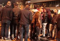 Taksim Meydanında korkunç olay Görenler hemen polisi aradı…