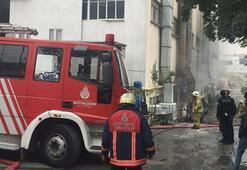 Son dakika: İstanbulda yangın Ekipler bölgeye sevk edildi