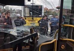 Son dakika | İstanbulda metrobüs kazası
