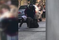 Son dakika... İnsafsız gelin, kaynanasını sokak ortasında böyle dövdü