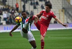 Bursaspor - Sivasspor: 3-2