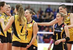 VakıfBank, Avrupadaki 27. galibiyetle çeyrek finalde