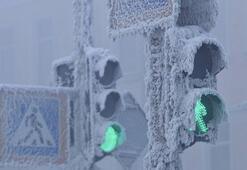 Oymyakondan soğuk hava rekoru