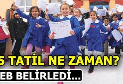15 Tatil ne zaman Okullar ne zaman kapanacak (2018-2019)