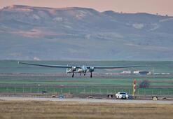 Yeni yerli İHA Anka-Aksungur ilk uçuşunu gerçekleştirdi