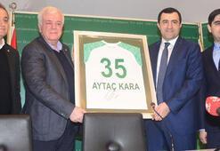 Bursaspor ile Neftçi Bakü arasında protokol imzalandı