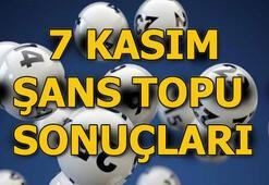 Şans Topu sonuçları açıklandı 7 Kasım MPİ-Şans Topu çekilişi