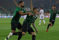 Akhisarspor - Göztepe: 1-0