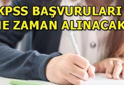 2019 KPSS sınavları ne zaman yapılacak İşte KPSS başvuru tarihleri