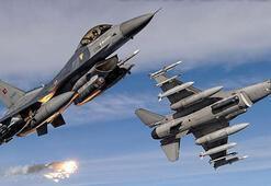 Şengal ve Mahmurdaki PKK hedefleri bombalandı