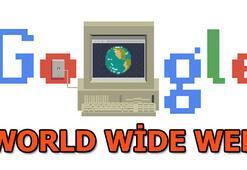 World Wide Web Google tarafından Doodle yapıldı | WWW nedir