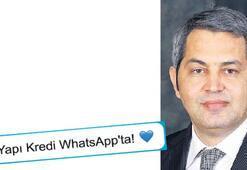 Yapı Kredi'den bir şube de WhatsApp'a