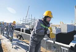 TürkAkım terminalinin yüzde 50'si tamamlandı