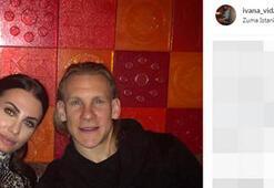 Domagoj Vidanın eşi Ivana Vidadan skandal paylaşım