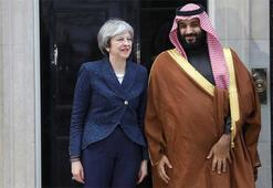 İngilterenin Suudi Arabistanı kınadığı gün silah pazarlığı
