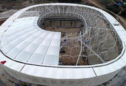 Adanada yeni stadyumun yapımında son viraj