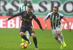 Bursaspor - Yeni Malatyaspor: 1-1