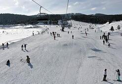 Cıbıltepe kayakseverlerin akınına uğradı
