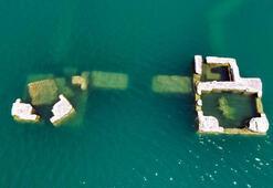 Elazığda batık şehir ortaya çıktı