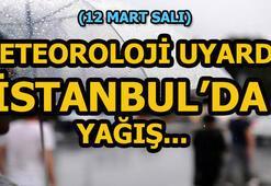 İstanbulda hava durumu bugün nasıl Meteoroloji açıkladı: İstanbulda yağış...