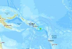 Son dakika... Solomon Adalarında deprem fırtınası