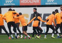 Galatasarayda Başakşehir maçı hazırlıkları sürüyor