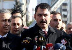 Son dakika: Bakan Kurum açıkladı Riskli bulunan 8 bina yıkılacak