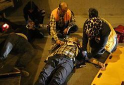 İstanbulda korkunç kaza... Bir an olsun elini bırakmadı