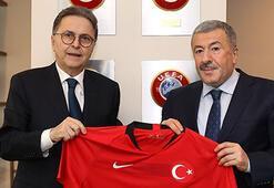 Mustafa Çalışkandan TFF Başkanı Güreliye nezaket ziyareti