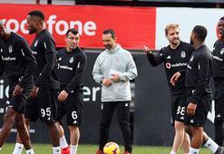 Beşiktaş, çift kale maç ve şut çalışması yaptı