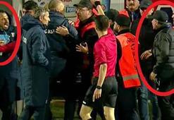 Hagi, Türk teknik adamla kapıştı